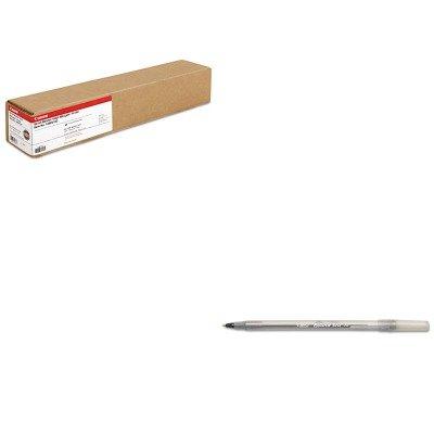 - KITBICGSM11BKCNM1290V133 - Value Kit - Canon Scrim Vinyl Banner (CNM1290V133) and BIC Round Stic Ballpoint Stick Pen (BICGSM11BK)