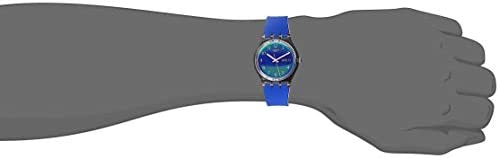 Swatch Transformation Quartz Silicone Strap, Purple, 16 Casual Watch (Model: GE718)