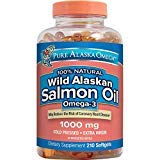 Pure Alaska Omega-3 Wild Alaskan Salmon Oil 1000mg 210 ct