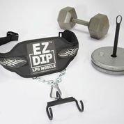 E-Z Dip Combo Hantel & Teller Halter DIP-Gürtel, hp101h P von lpgmuscle