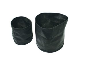 Aquascape Aquatic Plant Pots for Pond and Water Garden, 8-inch x 6-inch, Black, 2-Pack | 98502