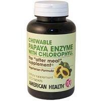 American Health Papaya Enzyme W/Chloropyl 250 Tab