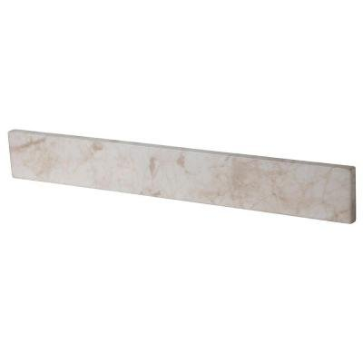 Home Decorators Collection 20.5 in. Stone Effects Sidesplash in Dune by Home Decorators Collection