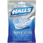 Halls Sf Menthol Size 25ct Halls Mentho-Lyptus Sugar Free 25ct Halls Mentho Lyptus Cough Suppressant
