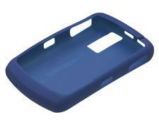 Oem Rubberized Skin - Blackberry 8300 Navy (Dark Blue) OEM Rubberized Skin Case