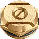 al Nozzles) 15 Foot Brass Spray Nozzle 4 Foot x 20 Foot Center Strip Pattern Water Nozzles - 2 Pack ()