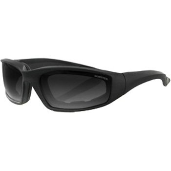 - Bobster Foamerz 2 Motorcycle Cruiser Sunglasses - Black/Smoke/One Size Fits All