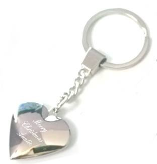 merry christmas auntie heart shaped keyring - custom engraved - includes  gift packaging D5  Amazon.co.uk  Shoes   Bags 6ebab9192718