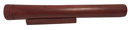N and J Kaleidoscope Teleidoscope in Solid Padauk Wood, 6 Inches