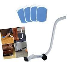 Ez Moves Furniture Moving Kit Glide Sliders Power Bar....as Seen On