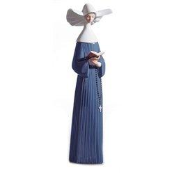 Lladro Porcelain Figurine Prayerful Moment ()