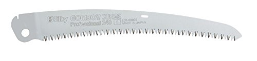 (Silky Saws 718-24 GomBoy Curve Professional Replacement Blade, 240mm, Chrome)