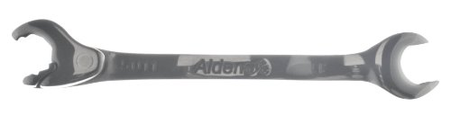 11mm Open End Alden Stainless Ratcheting (Alden Open Ratchet Wrench)