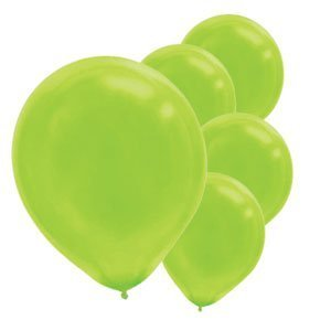 Kiwi Lime Green Latex Balloons - 12in. - 15/Pack