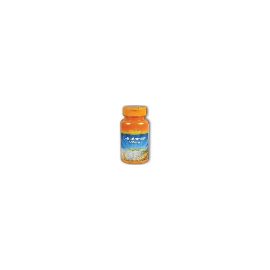 Thompson L Glutamine , 500 Mg, 30 Vegetarian Capsules