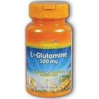 Thompson L Glutamine , 500 Mg, 30 Vegetarian Capsules