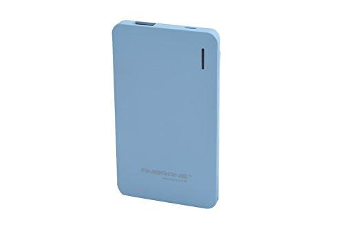 Ambrane Plush PP-40 4000mAH Polymer Power Bank (Blue)