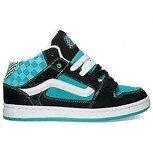 Vans, Scarpe da Skateboard bambini Multicolore (Check)Black/Blue 30
