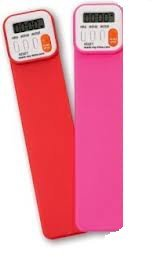 Mark-My-Time Digital Bookmark VALUE PACK! 2 PACK RED AND PINK from Mark-My-Time