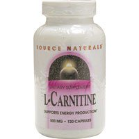 Source Naturals L Carnitine 500mg