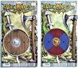 Viking Plastic Sword, Shield & Axe Set (Fancy Dress Swords)