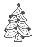 Stained Glass Supplies-bevel Clusters-tree (4mm)