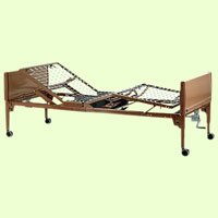 Invacare Hospital Standard Bed - Value Care Semi-Electric Bed Package - Innerspring Mattress and Standard Full Length Rails