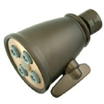 Kingston Brass CK137A1 Victorian 2-1//4-Inch OD Adjustable Brass Shower Head 2-1//4 inch Diameter Polished Chrome