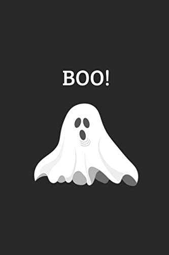 Boo!: Customised Ghost Notebook, Funny Halloween 2018 Journal ()