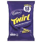 Cadbury Twirl Sharepack - 12 Treats (Twirl Chocolate)