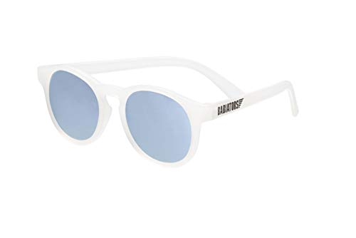 Babiators Blue Series Polarized Baby & Kids Sunglasses (Ages 3-5Y, Clear Keyhole/Light Blue Mirror)