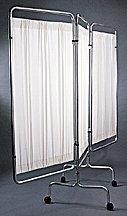 Medline Assembly - Medline 3-Panel Flame Retardant Vinyl Privacy Screens