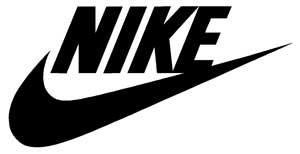 Amazon.com: Nike Swoosh Logo Vinyl Sticker Decal-Black-4 Inch