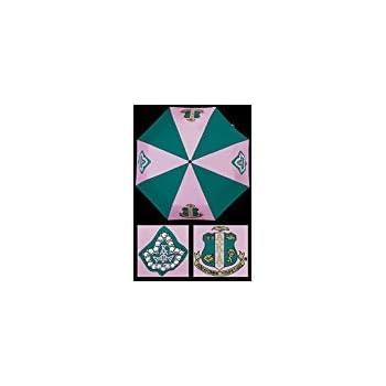 b3bd1d69ddf0 Exclusive Inverted Open Alpha Kappa Alpha Crest AKA Sorority Umbrella