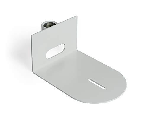 AV Brackets PTZ Camera Ceiling Mounting Bracket Compatible with HuddleCam PTZOptics Small Universal White HCM 1C