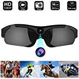 Glasses Camera, Digihero 1080P Glasses Video Recorder, Real Full HD 1080P with Wide Angle sunglasses camera Video for Outdoor Sports