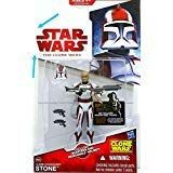 Star Wars 2009 Clone Wars Animated Action Figure CW No. 44 Commander - Wars Wars Toys The Star Clone