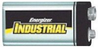 Energizer® Eveready® 9 Volt Alkaline Battery With Miniature Snap Terminal (12 Packs)