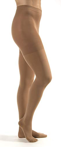 Jobst Relief 20-30 Closed Toe Beige Compression Pantyhose, Small