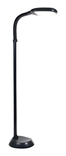 Bedford Home 72A-1515 LED Sunlight Floor Lamp with Dimmer Switch 5', 8.75