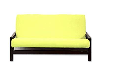 Royal Heritage Home FSHTF-32 Futon Cover, Full (54x75), Neon Yellow Fluorescent