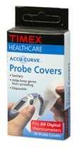 (Timex Oral Thermometers Disposable Probe Covers,30)