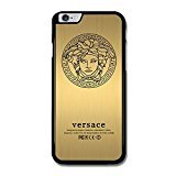 Price comparison product image Versace Gold Art Design for Iphone Case with Low Shipping Price with Laser Technology Printing (iPhone 6/6S Black)