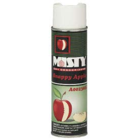 Misty Dry Deodorizer Snappy Apple Scent, 10 Oz. Aerosol 12/Case - AEPA23820SA (AMR A238-20-SA) by Misty (Image #1)