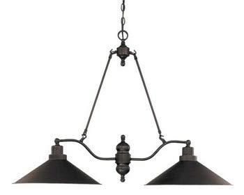 Nuvo Lighting 60/1703 Two Light Trestle, Bronze/Dark
