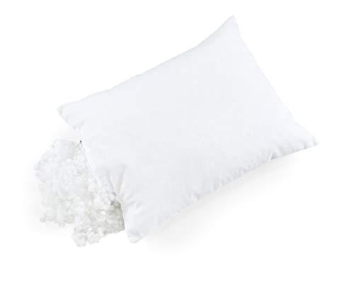 2er Set Kinder Kopfkissen Microfaser F/üllkissen Microfaserkissen aus silikonisierter Polyesterhohlfaser und Baumwolle Kissenbezug Hypoallergen Kinderkissen f/ür alle Schlafpositionen