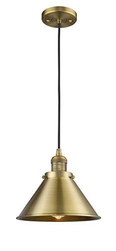 (Innovations 201C-BB-M10-BB 1 Light Mini Pendant Brushed Brass)