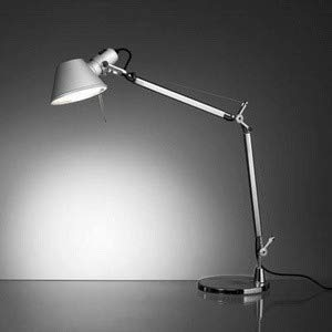 Artemide TOL0055 Tolomeo Mini - One Light Table Lamp with Clamp, Choose Lamping Option: A19 Medium Base
