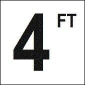 Ceramic Number Marker - 9