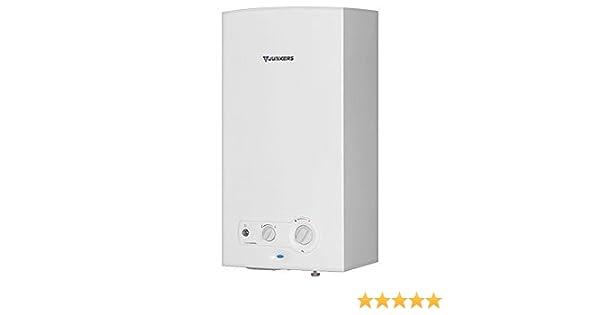Calentador de agua automatico termo de gas butano Junkers 11lt MiniMaxx interior: Amazon.es: Electrónica